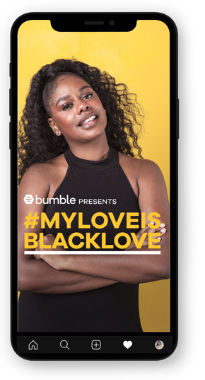 Diversity Bumble phone